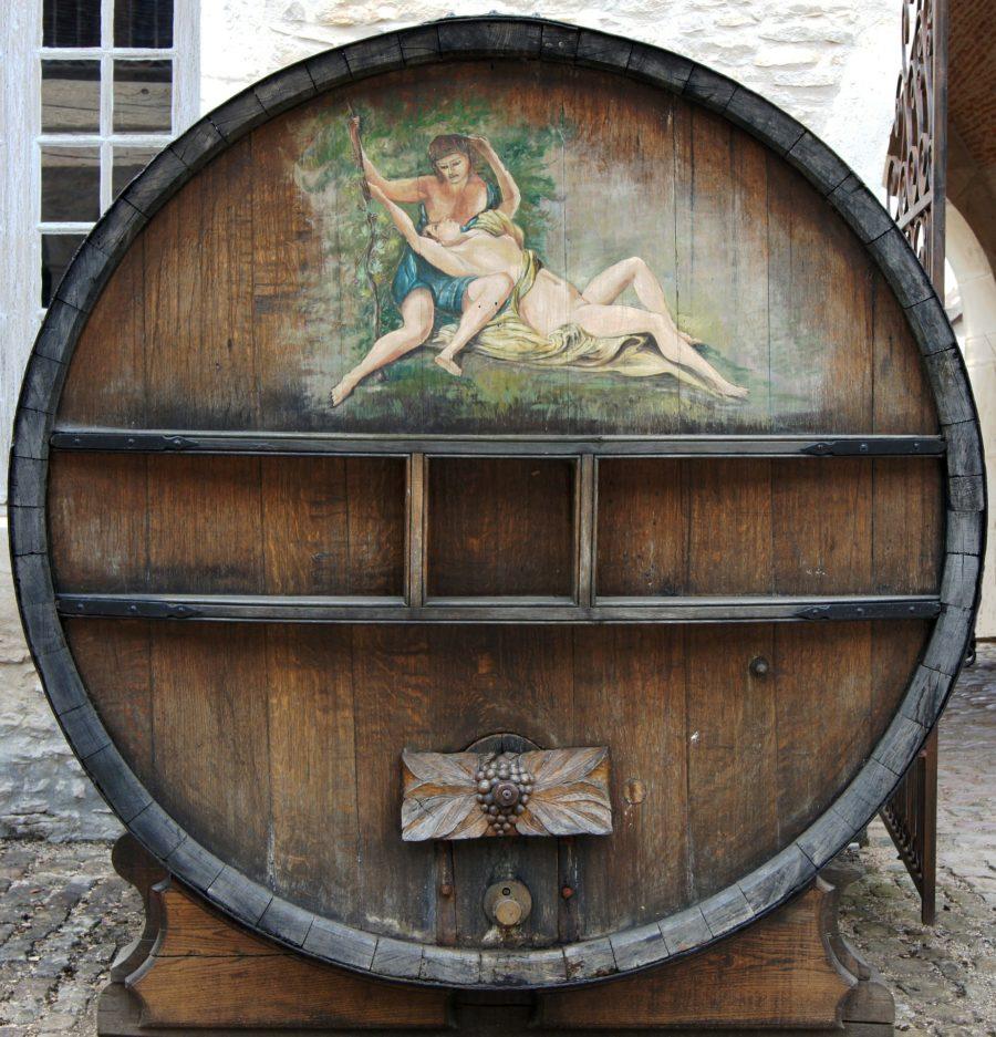 vino-vecchio nuovo mondo-botte-francia